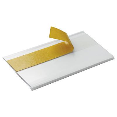 Porta etichette adesivo per rotazione rapida