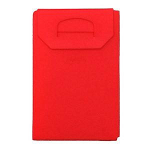 Porta mascherina, Rosso corallo