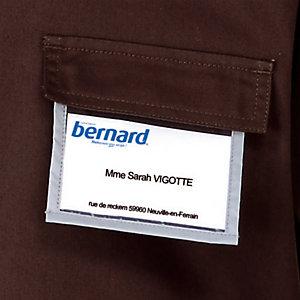 Porte-badge amovible