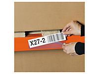 Porte-étiquettes pour changements réguliers, fixation adhésive