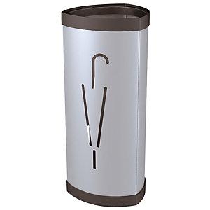 Porte-parapluie Tria2 en métal - Aluminium