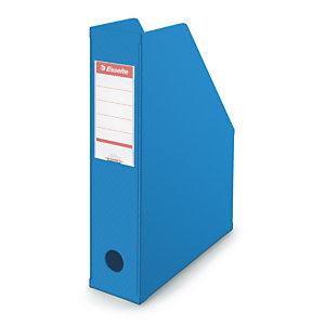Porte-revues PVC pliable dos 7 cm ESSELTE