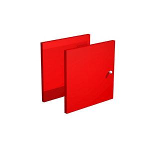 Portes Multicases - Rouge (Lot de 2)