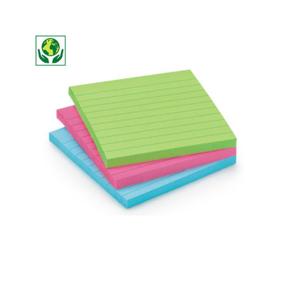 Post-it 3M Haftnotizen Super Sticky, liniert