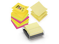 Post-it 3M en Z Super Sticky et dévidoir