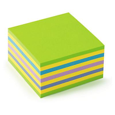 Post-it® block - Anteckningslappar i olika färger för vardagligt bruk