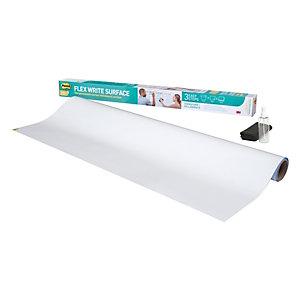 Post-it® Lavagna cancellabile Flex & Write, 122 x 183 cm, 1 rotolo, Bianco
