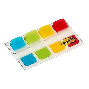 Post-it® Marcapáginas mini, 16 x 38 mm, colores variados, 40