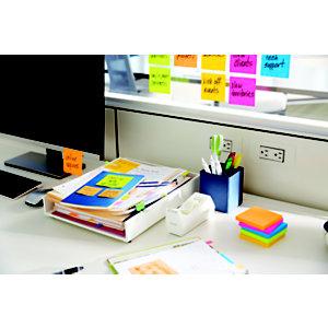 Post-it® Notas Adhesivas Recicladas Bloques 76 x 76 mm, Colores Surtidos Pastel, 6 Bloques, 100 hojas