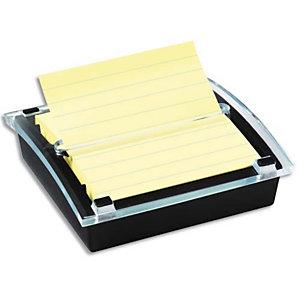 POST-IT® POST-IT Dévidoir Z-Notes Millénium pour notes 101x101mm, livré avec 1 bloc 90 feuilles Jaunes