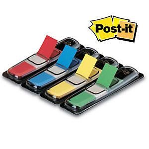 Post-it® Segnapagina Index Piccolo 11,9 x 43,1 mm Colori assortiti Confezione 4 x 35 Con dispenser 683-4