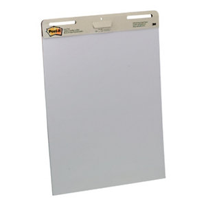 Post-it® Super Sticky 559 Bloc para caballete de rotafolios, 635 x 775 mm, 30 hojas, blanco