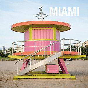 Post-it® Super Sticky Bloc de notas rayadas, 101 x 101 mm, Colección Miami, 90 hojas