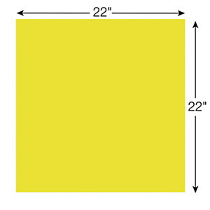 Post-it® Super Sticky BN22-EU Notas grandes, 55,8 x 55,8 cm, 30 hojas, amarillo neón