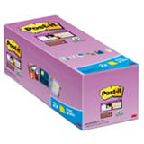 Post-it® Super Sticky Canary Yellow™ Notas Adhesivas Bloques 76 x 76 mm, amarillo canario, 90 hojas