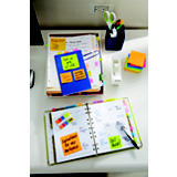 Post-it® Super Sticky Notas Adhesivas Bloques 76 x 76 mm, Colección Cape Town, 90 hojas