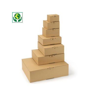Postdoos met automatische bodem en bovenklep