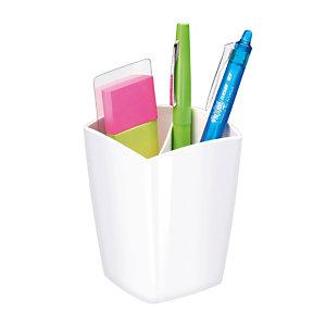 Pot à crayons magnétique Gloss by Cep blanc