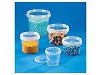 Pot inviolable plastique