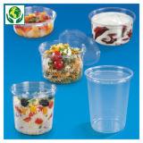 Pot rond fraîcheur plastique transparent
