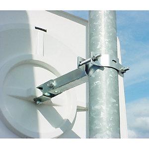 Poteau de fixation galvanisé 4 m pour miroirs