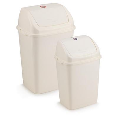 Poubelle à couvercle basculant 18 et 35 litres Rossignol Pro