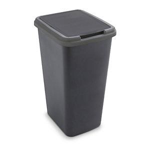 Poubelle à couvercle basculant recyclée 25 et 50 litres