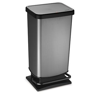 Poubelle plastique à pédale 40 litres