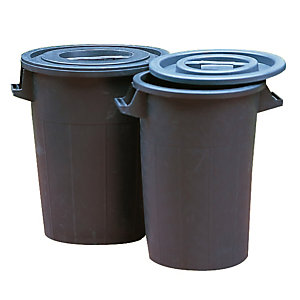 Poubelle Polyéthylène 90 L