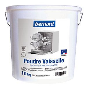 Poudre de lavage lave-vaisselle cycle court Bernard 10 kg