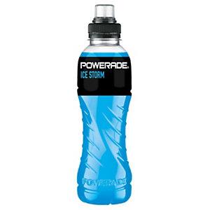 POWERADE Ice Storm, Bebida isotónica, tapón sport, 500 ml