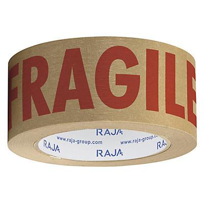 Pre-printed FRAGILE self-adhesive paper tape