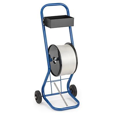 Prenosný odvíjač pre textilné pásky