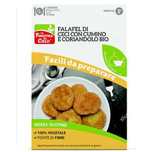 Preparato per falafel con ceci,  cumino e coriandolo senza glutine BIO, 100 g