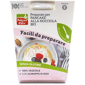 Preparato per pancake alla nocciola  senza glutine BIO, 100 g