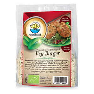 Preparato per polpette vegetali Veg burger, 200 g