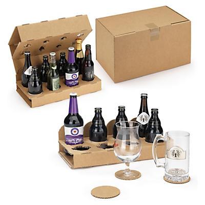 Prepravné krabice pre pivovej fľaše
