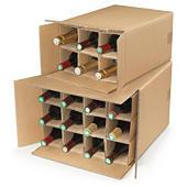 Přepravní krabice na víno