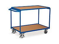 Prepravný policový vozík