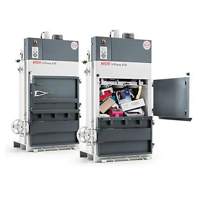 Pressa rifiuti V-Press 610 HSM