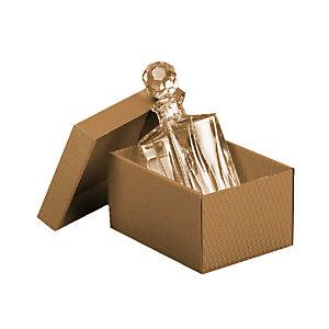 Pressel 10 boîtes cadeau A4 nature