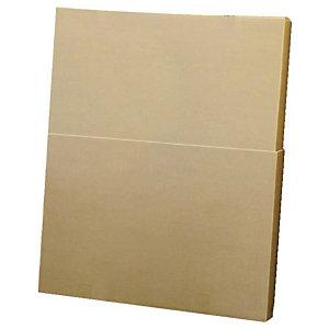 Pressel 10 boîtes télescopiques, brun, 800x180x600-1000mm