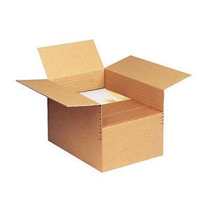 Pressel 10 Cartons ajustables 2 cannelures, A4+