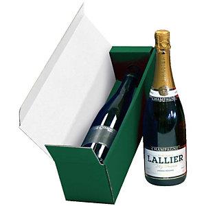 Pressel 10 Coffrets cadeau pour 1 bouteille vert