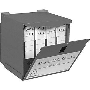 Pressel 10 conteneurs archives gris
