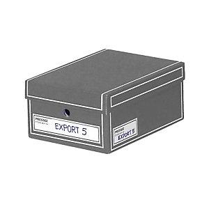 Pressel 10 Store-Box gris A4
