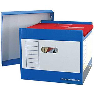 Pressel 2 Top-Portable-Box, bleu