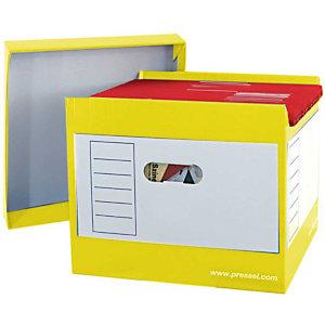 Pressel 2 Top-Portable-Box, geel