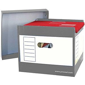 Pressel 2 Top-Portable-Box, grijs
