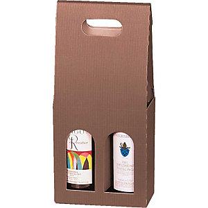 Pressel 20 boîtes cadeau pour 2 bouteilles nature